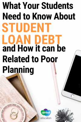 Student loan debt can result from poor planning. This story highlights one persons mistakes in law school and how it cost her big. Show your students how to avoid making the same mistakes.