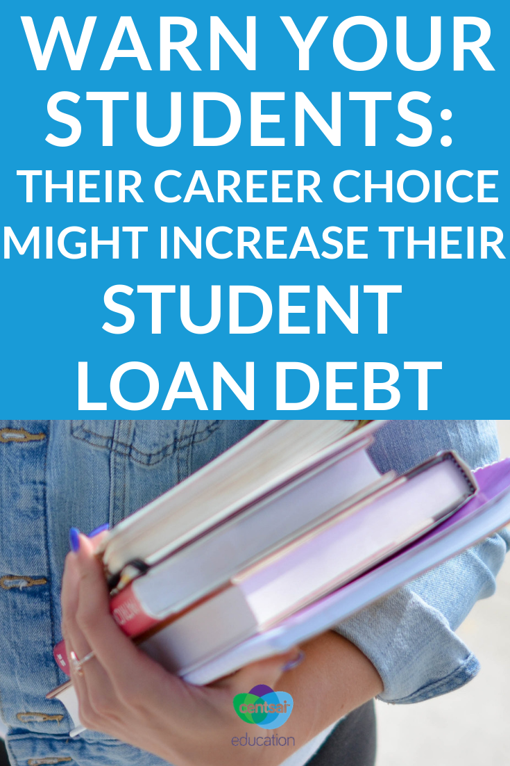 The story of how one woman's career choice affected her ability to pay off her student loans. It isn't pretty, but it will help your students see the reality of student loan debt.