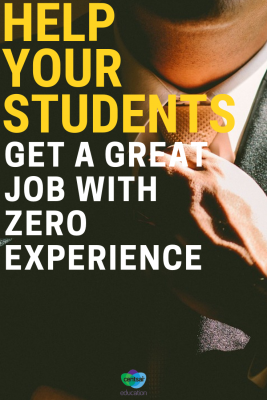 Practical tips for your younger students looking for their first job.