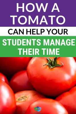 Time management is a life skill — but can a tomato teach your students how to do it well? Show your students a simple yet effective time management system.