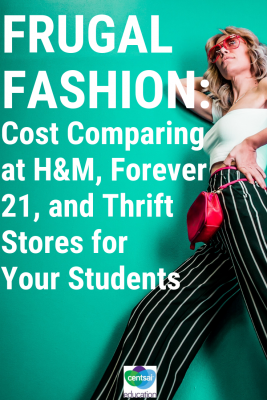 Buying clothes for teens doesn't have to break the bank if they look at all their options.