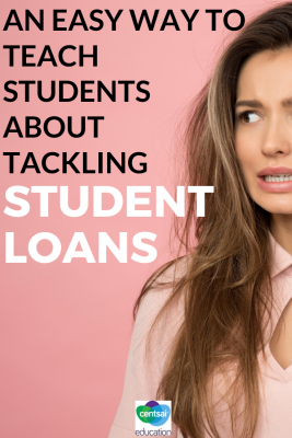 Take the fear out of student loans with these tips for your students.