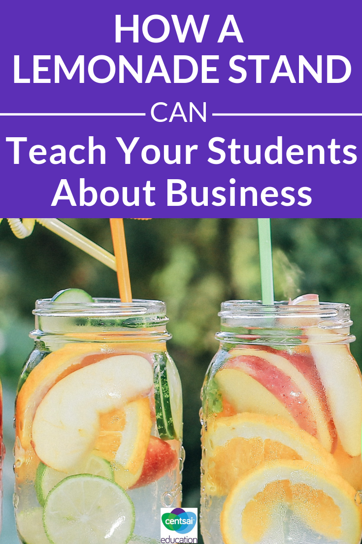A lemonade stand can be a kid's first opportunity to learn the ins and outs of running a successful business. See what your students could learn from it.