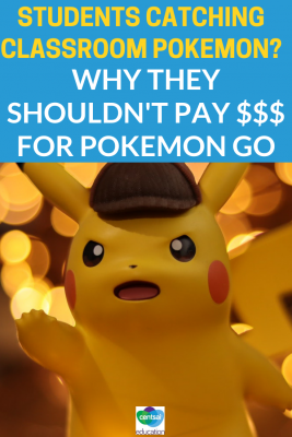 "Are your students playing Pokemon Go? ""Freemium Games"" have taken our cellphones by storm — help your students understand why they shouldn't pay for free games."