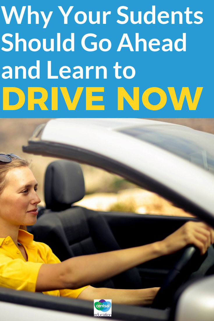 Many teens today are choosing to delay learning to drive. Here are some things for them to consider carefully.