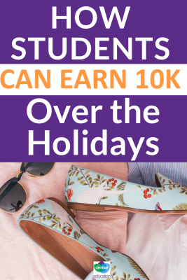 Holiday breaks and the summer is a prime opportunity for students to earn lots of extra money. This article will help you give them plenty of ideas on how to get started.