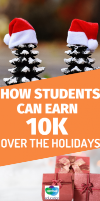 Holiday breaks and the summer is a prime opportunity for students to earn lots of extra money. This article will help you give them plenty of ideas on how to make extra money and quick cash. #CentSaiEducation #makequickcash #makemoneyonline