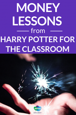 Harry Potter? Finance? Yep, they go hand in hand! Check out these money lessons from Harry Potter you can show your students.