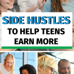 Share these side hustle ideas with your students to help them earn all the extra cash they need! #CentSaiEducation #makemoremoney #sidehustletips #makemoremoneytips