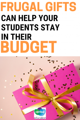 Everyone loves to give amazing gifts to friends and family, but it can be hard when you're a broke high school student. Help your students learn how to give awesome but affordable gifts.