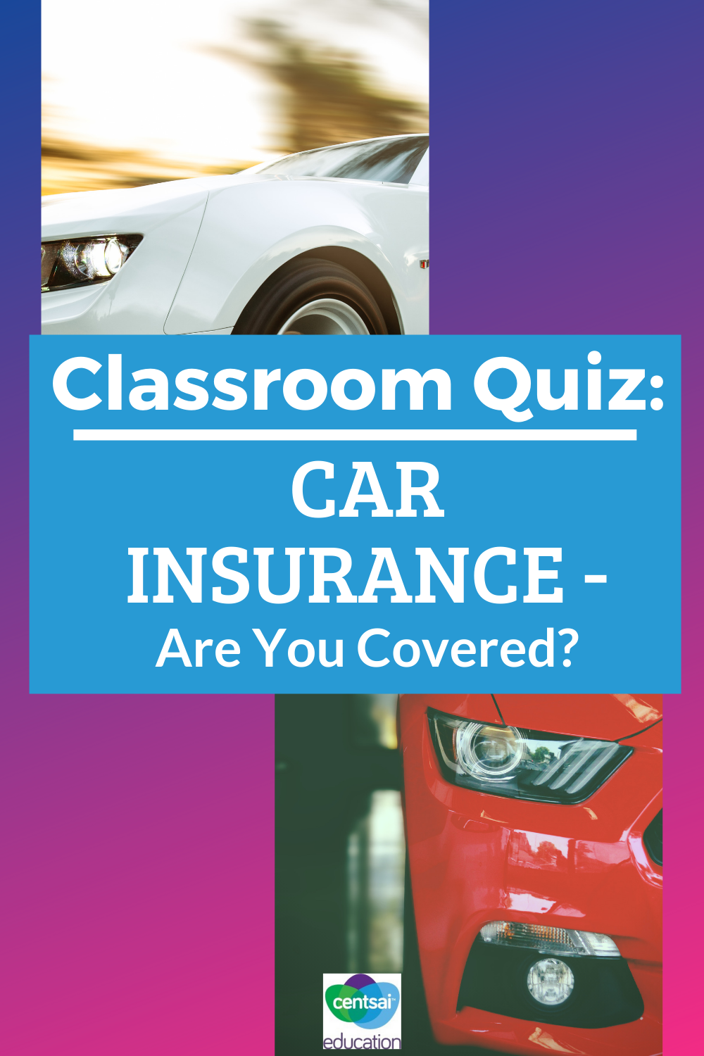Have any students driving? What's their car insurance situation? Make sure they know what's up! #carinsurance #CentSaiEducation #student #college