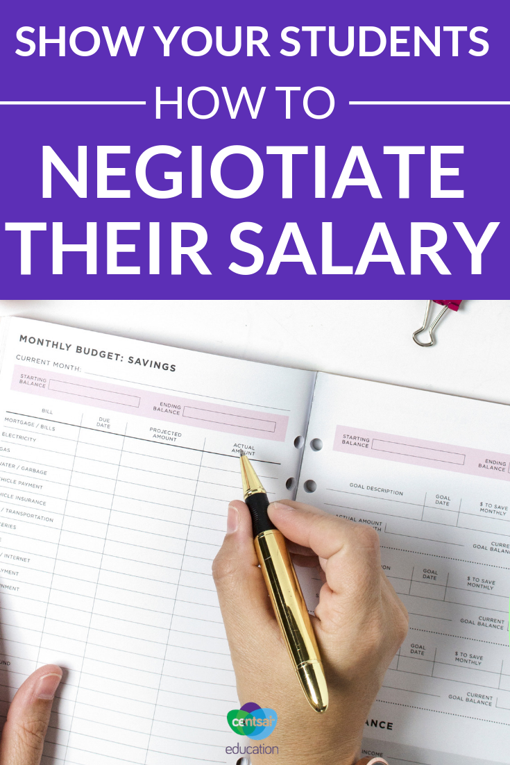 Do your students know their worth or how to approach their boss for a raise they deserve? Help them learn how to ace salary negotiations.