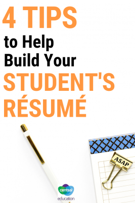 Teach your students how to build the best résumé possible — and why it's so important.
