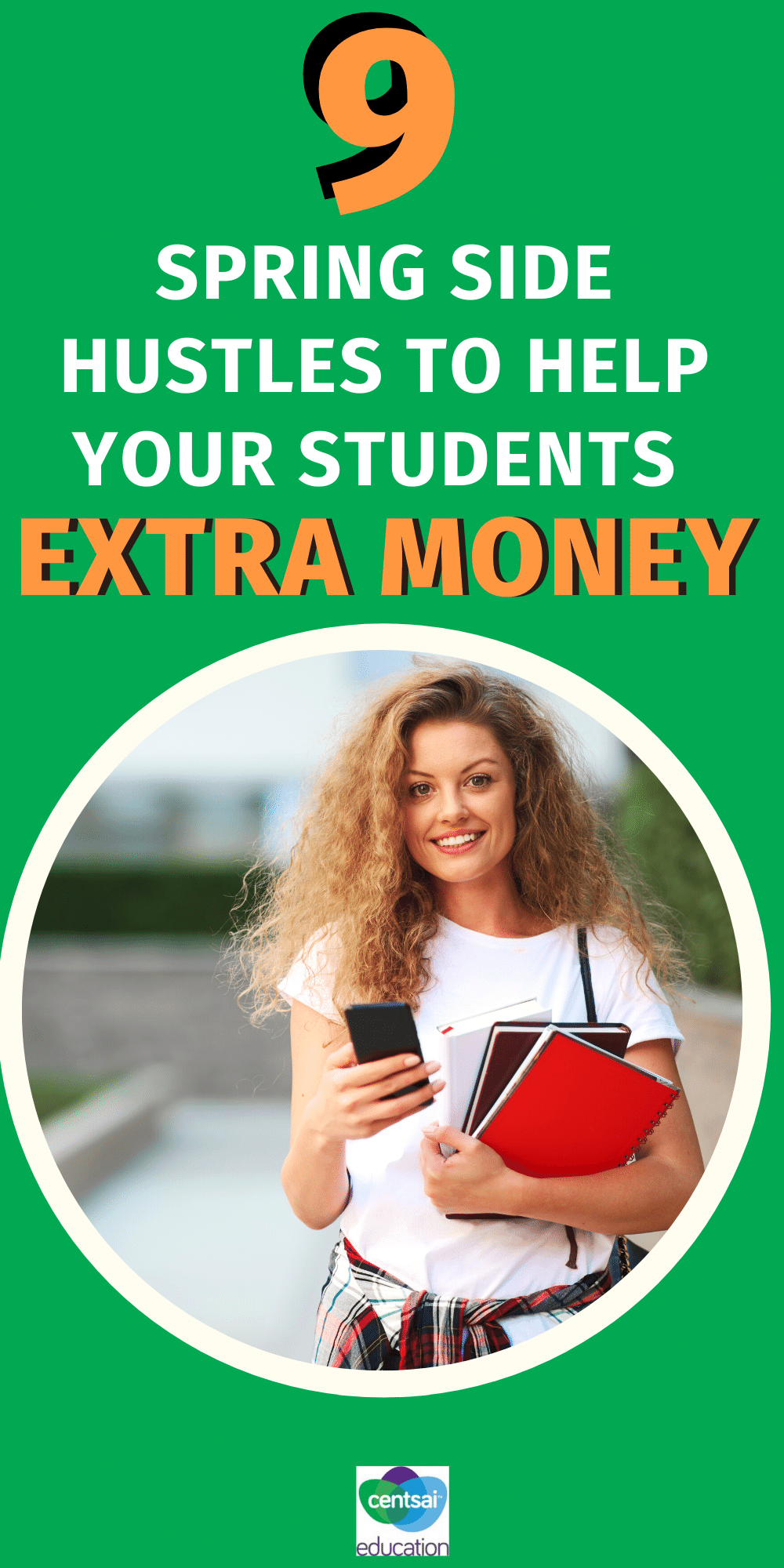 From tutoring to lawn care here are nine practical ways your students can earn some extra money this spring!