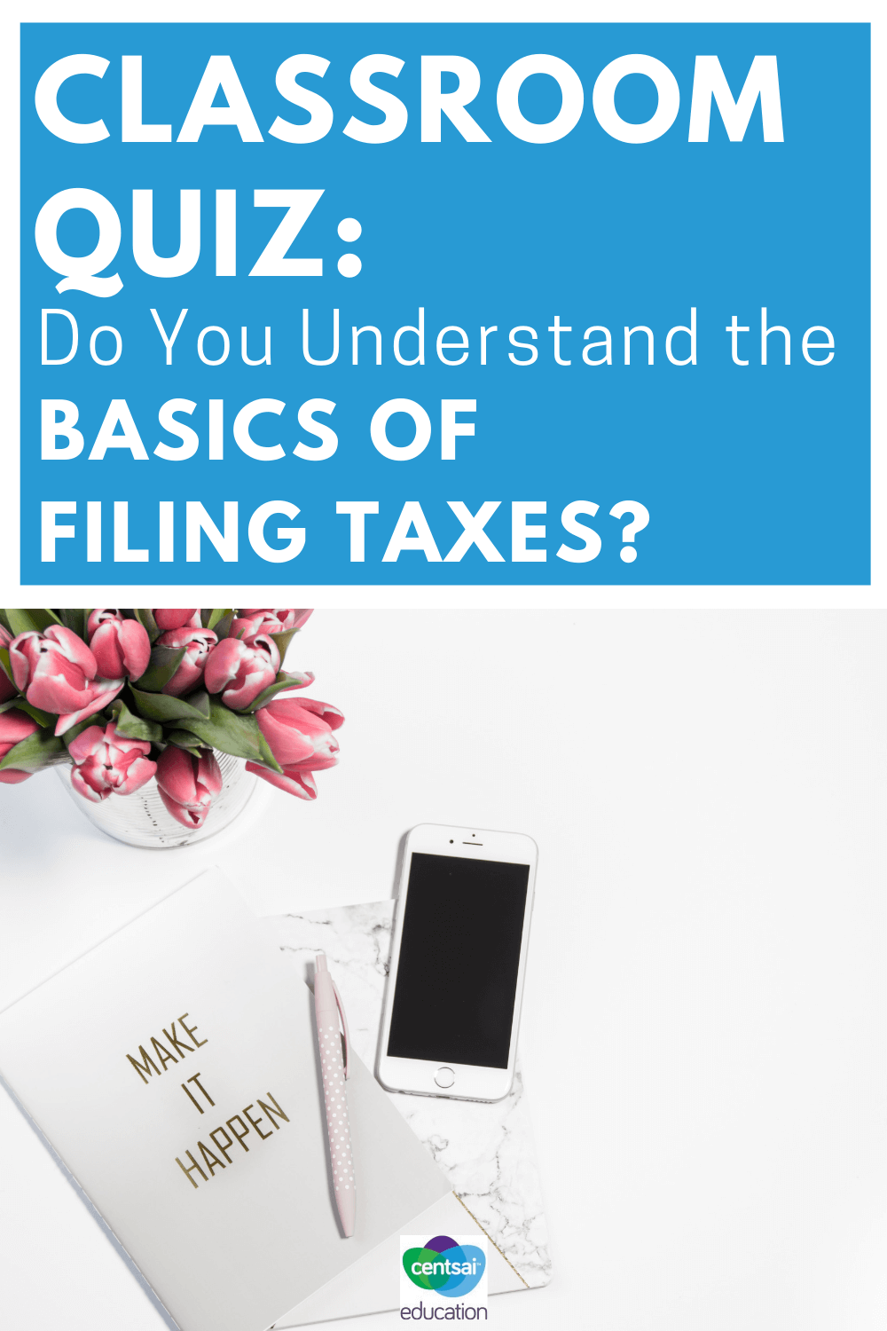 A lot of students think that filing taxes is for adults only, but the reality is that it's a necessary aspect of being an employee. Check out these tips if your students have jobs or want to get a job, be sure to see if they understand the basics. #student #Moneytips #howtodo #filing #tips
