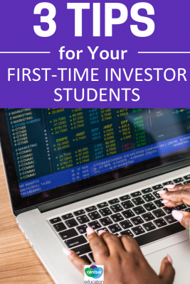 Buying stocks can be intimidating. Here's how to make new investors of your students, and how they can start trading effectively.