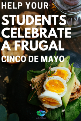Everyoneloves to celebrate Cinco de Mayo. Combine history with some frugal recipes for your students and let the celebration begin.