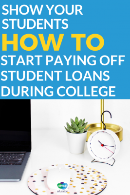 They don't have to wait until after graduation to tackle student debt. Starting while they're still in school can save them hundreds, even thousands in loan repayments.