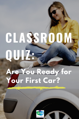 It's a big one — your first car. Do you know how many of your students are ready? Check out these tips! #car #firstcar #essentials #students