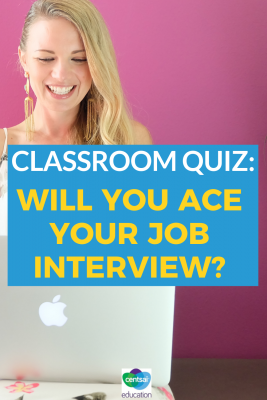 Job interviews are standard fare for anyone looking for employment. Do you have students interested in finding jobs? Let's make sure they're ready to ace their first interview! #firstinterview #jobinterview #tips #interviewtips