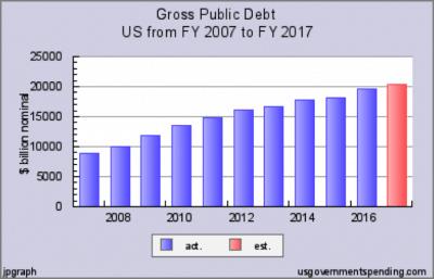 Case Study: How Does the U.S. National Debt Affect Me? - Gross Public Debt
