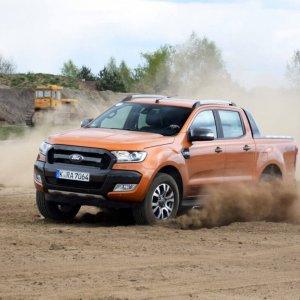 B. All-wheel-drive pickup truck