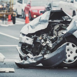 D. Policy deductible in the event of an at-fault accident.