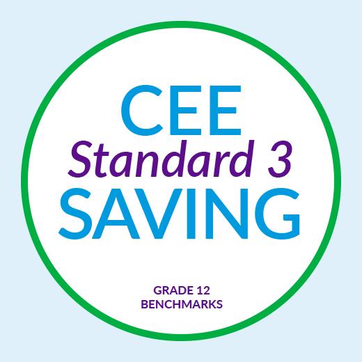 CEE Standard 3 : Saving