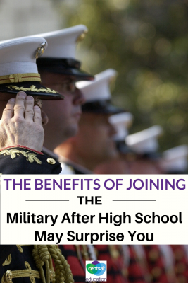 For many high school juniors and seniors, one question looms big: What comes next? There's often a lot of pressure either to go to college or to find a job right away. But those aren't the only options available. Consider the military! #tips #preparation #CentSaiEducation #life #college