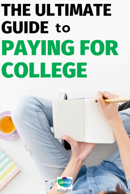 The prospect of funding college can be scary. Check out our ultimate guide and learn how to pay for college without losing an arm and a leg. #studentloans #CentSaiEducation #tips #college