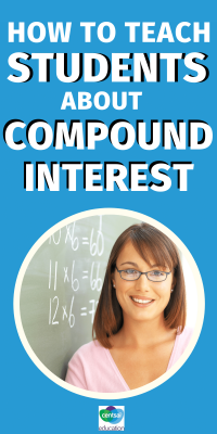 With this short, interactive video, help your students learn what compound interest is, how it works, and how to calculate it — if they choose to accept their mission! #CentSaiEducation #savingtips #savingmoney #budgetingtips