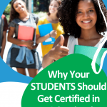 Show your students the value of a certification that they can get right now. We're talking increased employment opportunities, self-growth, and even where to find these courses online for free. This short but informative video will show your students why they should get certified, and how they can do so. #CentSaiEducation #studenttips #makemoremoney #sidehustleideasextracash