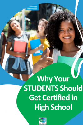 Show your students the value of a certification that they can get right now.We're talking increased employment opportunities, self-growth, and even where to find these courses online for free. This short but informative video will show your students why they should get certified, and how they can do so. #CentSaiEducation #studenttips #makemoremoney #sidehustleideasextracash
