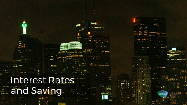 [VIDEO] How Interest Rates and Savings Work
