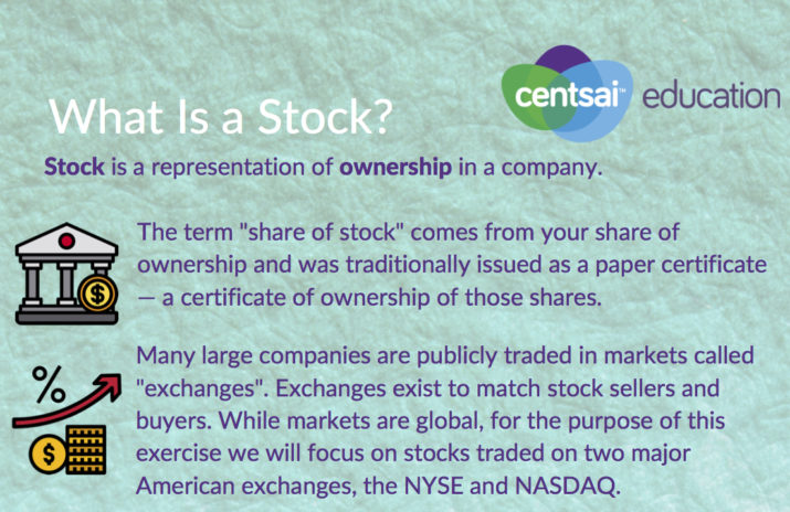 Worksheet: What Is a Stock?